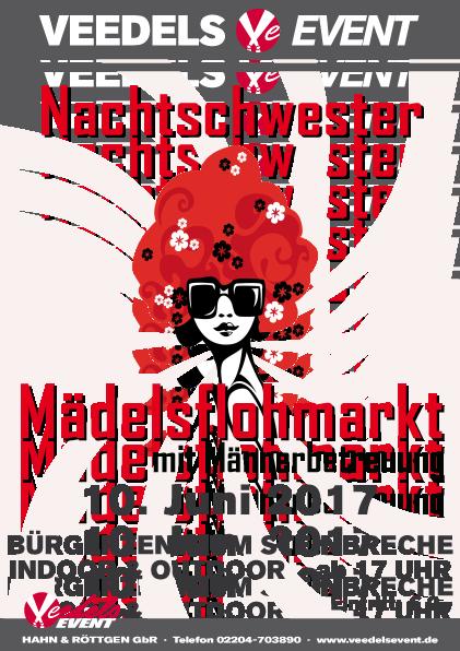 Nachtschwester Mädelsflohmarkt – 10. Juni 2017