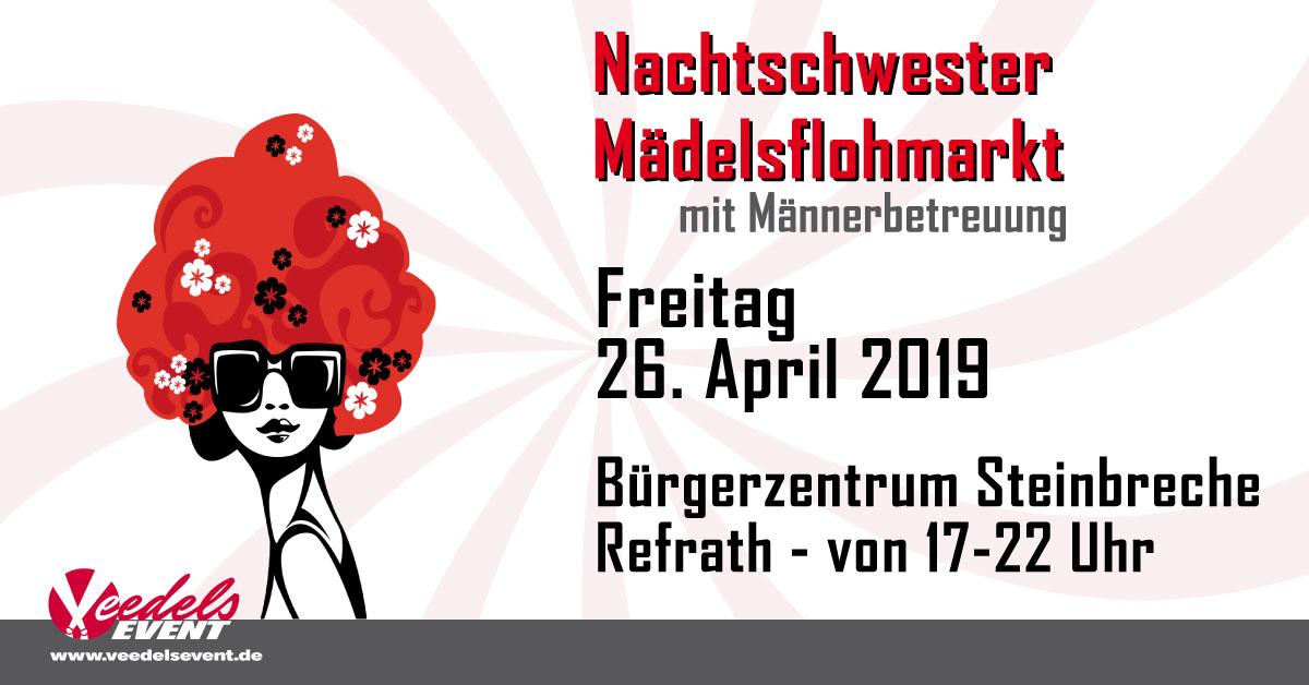 Nachtschwester Mädeslflohmarkt Freitag 26. April 2019