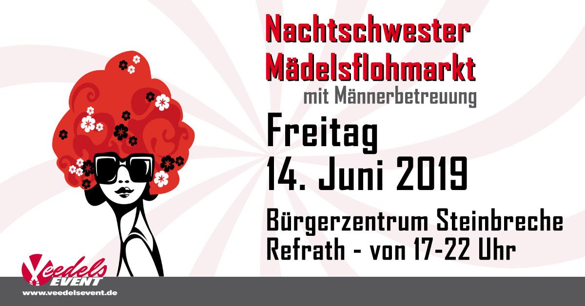 Nachtschwester Mädeslflohmarkt Freitag 14. Juni 2019