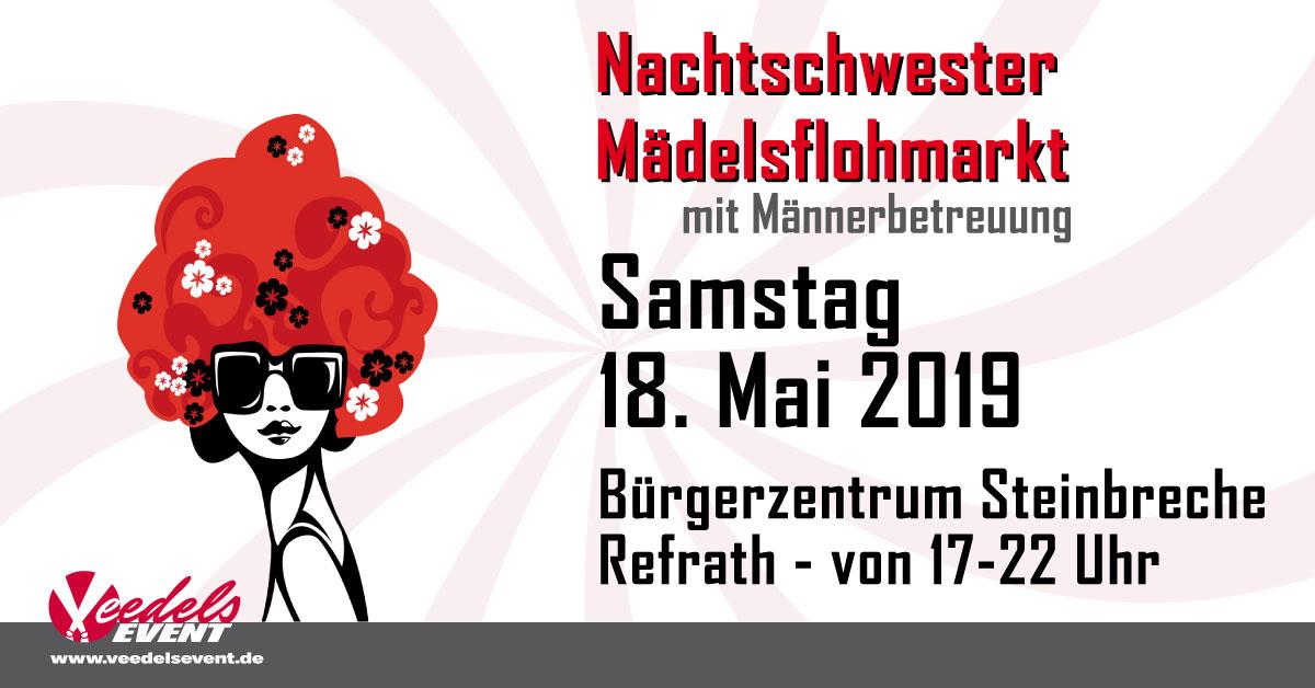 Nachtschwester Mädeslflohmarkt Samstag  18. Mai 2019